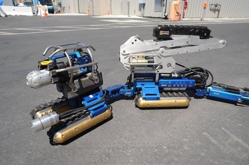 Long Distance Inspection Robot