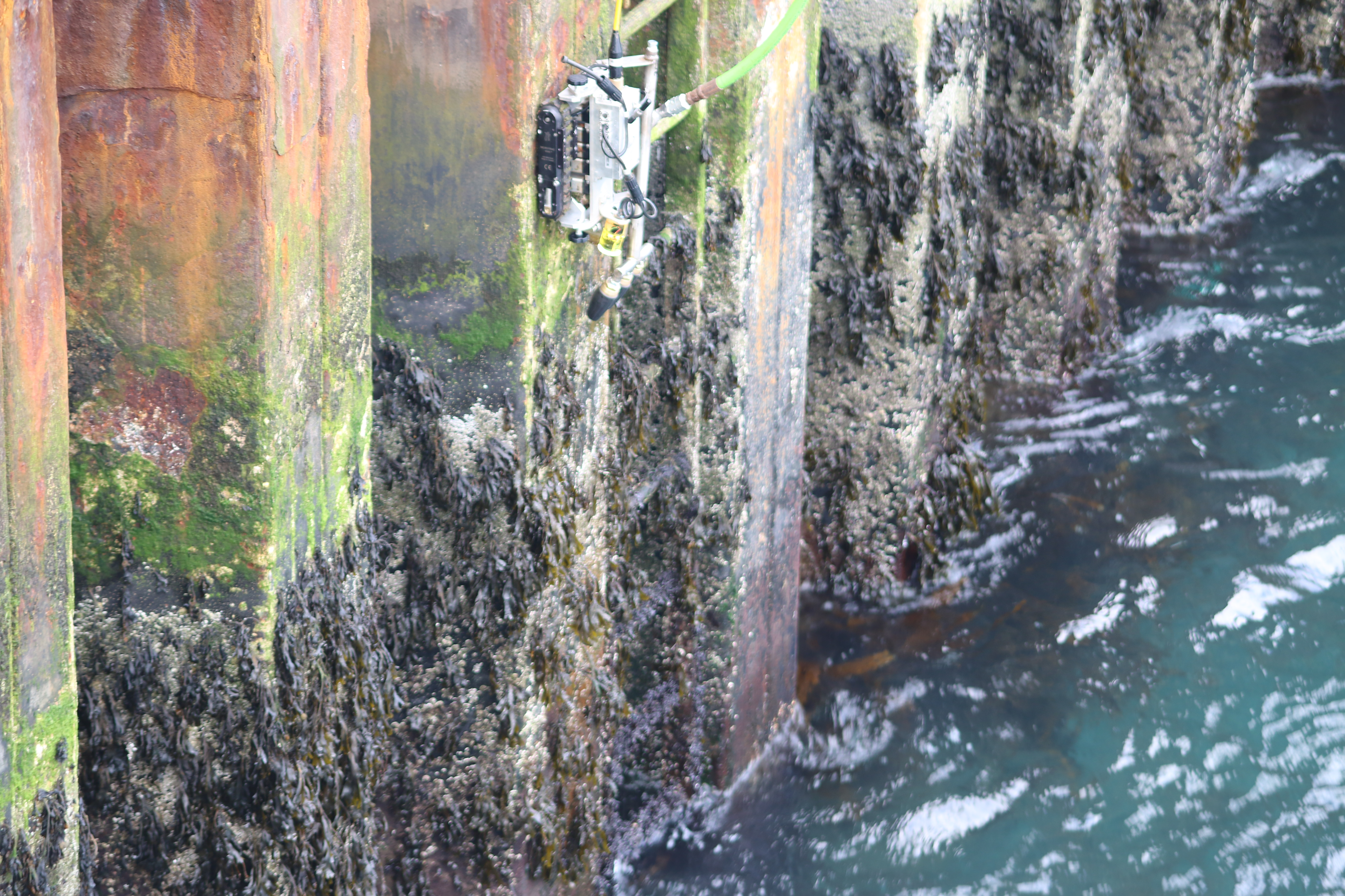 FPSO Marine Growth Removal